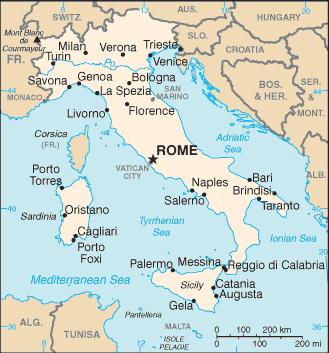 AREA D1 Italy Malta San Marino Vatican City