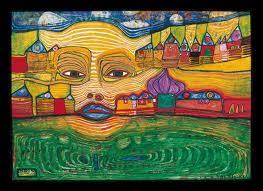by Friedensreich Hundertwasser