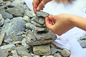 Pebbles small tower
